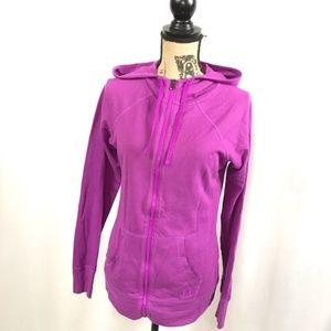 Under Armour Full Zip Hoodie Purple